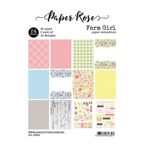 Paper Rose - A5 Collection Pack - Farm Girl