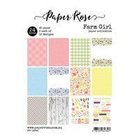 Paper Rose - A5 Paper Pack - Farm Girl