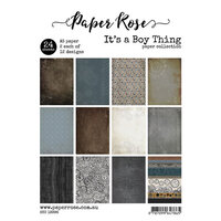 Paper Rose - A5 Paper Pack - It's a Boy Thing