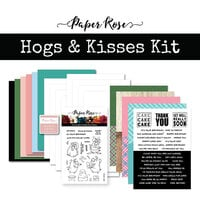 Paper Rose - Card Making Kit - Hogs and Kisses