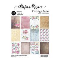 Paper Rose - A5 Paper Pack - Vintage Rose