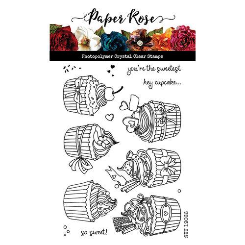 Paper Rose Hey Cupcake Stamp Set