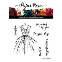 Paper Rose - Clear Photopolymer Stamps - It's Your Day