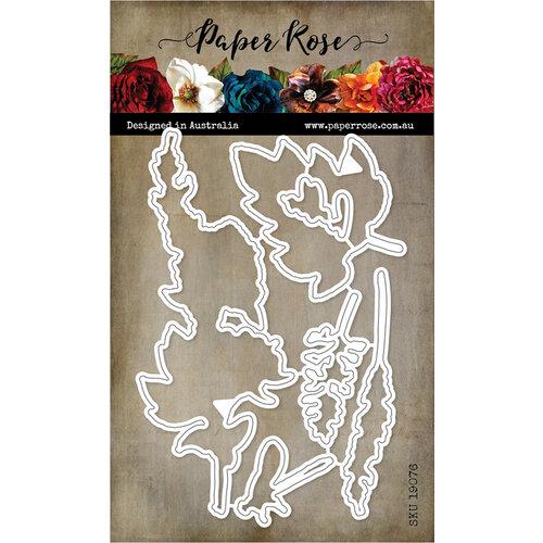 Paper Rose Sketchy Florals Hello die