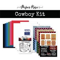 Paper Rose - Card Making Kit - Cowboy