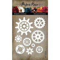 Paper Rose - Dies - Cogs