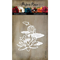 Paper Rose - Dies - Lotus Bloom