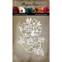 Paper Rose - Dies - Rose Bloom
