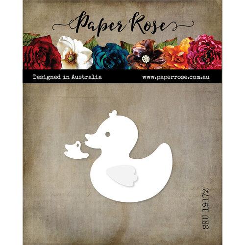 Paper Rose - Dies - Rubber Duck