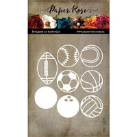 Paper Rose - Dies - Ball Sports
