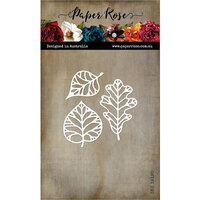 Paper Rose - Dies - Autumn Leaf Outlines Trio