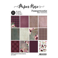 Paper Rose - A5 Paper Pack - Pomegranate