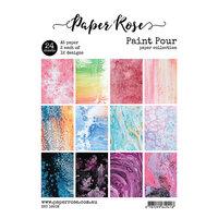 Paper Rose - A5 Paper Pack - Paint Pour