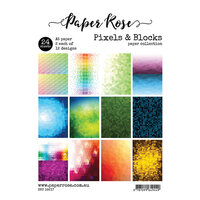 Paper Rose - A5 Paper Pack - Pixels and Blocks