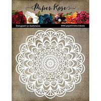 Paper Rose - 6 x 6 Stencil - Mandala 2