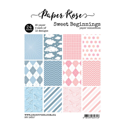 Paper Rose - A5 Paper Pack - Sweet Beginnings