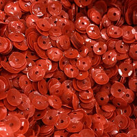 Paper Rose - Sequins - Solid - Red