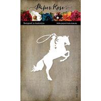 Paper Rose - Dies - Bucking Horse