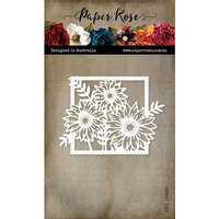 Paper Rose - Dies - Bloom Square Frame