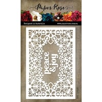 Paper Rose - Dies - Snowflake Rectangle Frame