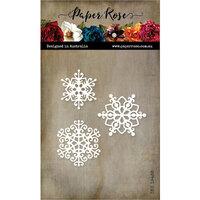 Paper Rose - Dies - Snowflake Trio