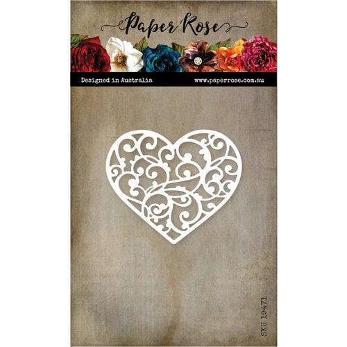 Paper Rose - Dies - Flourish Heart