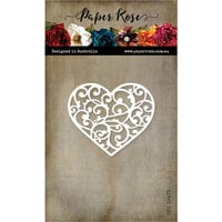 Paper Rose - Dies - Flourish Heart
