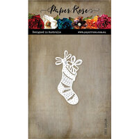 Paper Rose - Dies - Christmas Stocking