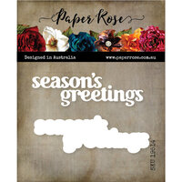 Paper Rose - Dies - Season's Greetings Chunky