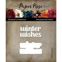 Paper Rose - Dies - Winter Wishes Chunky