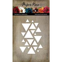 Paper Rose - Dies - Card Creator Triangle Windows