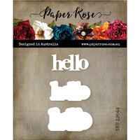 Paper Rose - Dies - Hello Chunky Double Layered