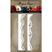 Paper Rose - Dies - Wave Borders