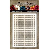 Paper Rose - Dies - Graph Paper Rectangle