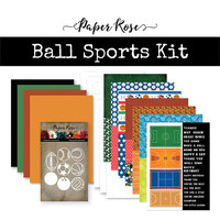Paper Rose - Card Making Kit - Ball Sports