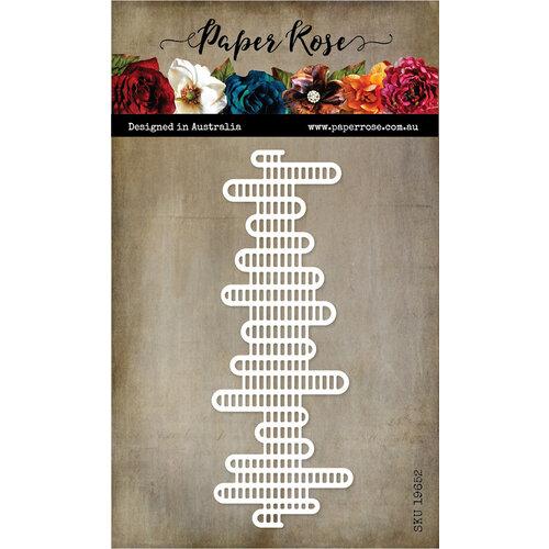 Paper Rose - Dies - Sound Wave Texture