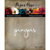 Paper Rose - Dies - Prayers Fine Script