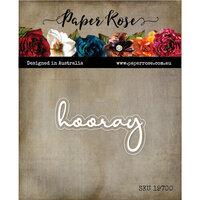 Paper Rose - Dies - Hooray Fine Script