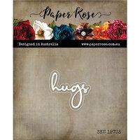 Paper Rose - Dies - Hugs Fine Script