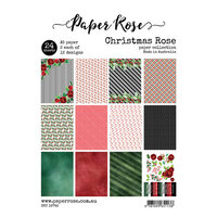Paper Rose - A5 Paper Pack - Christmas Rose