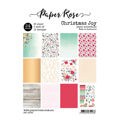Paper Rose Christmas Joy paper collection