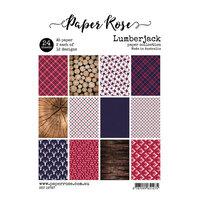 Paper Rose - A5 Paper Pack - Lumberjack