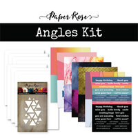 Paper Rose - Card Making Kit - Angles