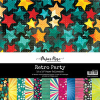 Paper Rose - 12 x 12 Collection Pack - Retro Party
