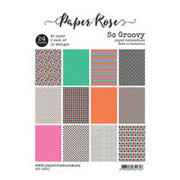 Paper Rose - A5 Paper Pack - So Groovy