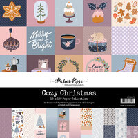 Paper Rose - 12 x 12 Collection Pack - Cozy Christmas