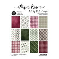 Paper Rose - A5 Paper Pack - Jolly Holidays