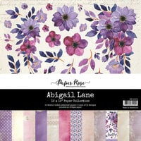 Paper Rose - 12 x 12 Collection Pack - Abigail Lane