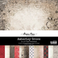 Paper Rose - 12 x 12 Collection Pack - Amberley Grove