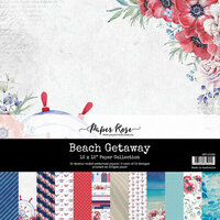 Paper Rose - 12 x 12 Collection Pack - Beach Getaway